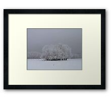 Later in The Foggy Day Framed Print