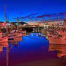 San Francisco Fishing Fleet by Bill Wetmore