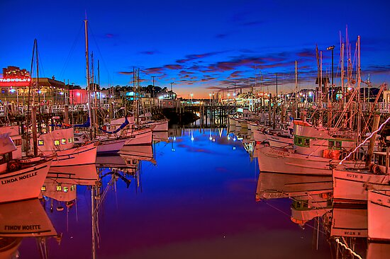 San Francisco Fishing Fleet by njordphoto