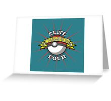 Elite Four Champion Greeting Card