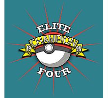 Elite Four Champion Photographic Print