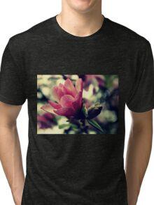 Magnolia Delicate Bloom Tri-blend T-Shirt