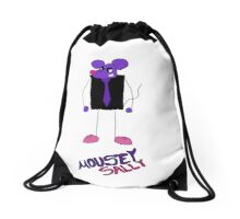Mousey Sally (The Stomp Man) Drawstring Bag