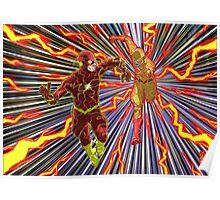 Flash v Reverse Flash Poster