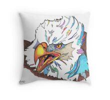 Eagle 2010 Throw Pillow