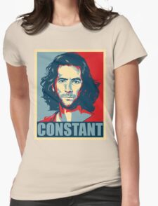 Desmond Hume from Lost - Shepard Fairy Poster Style T-Shirt