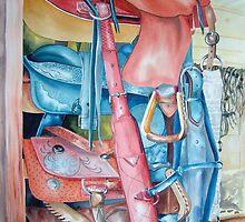 Blue Saddle by kandyce