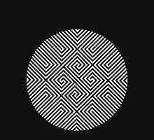 White Optical Illusion Women's Tank Top