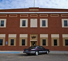 Liberty County Montana Court House by Bryan D. Spellman