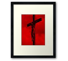 Father Forgive Them Framed Print