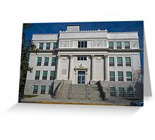 Hill County Montana Court House Greeting Card
