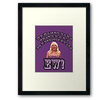 Jimmy Fallon EW! Framed Print