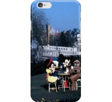 OG Mickey Mini and Pluto Hanging out back in 1978 iPhone Case/Skin