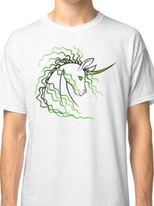 Ki-Rin (Japanese Unicorn) - Green Classic T-Shirt