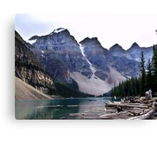 Evening at Moraine Lake Canvas Print
