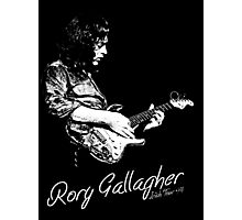 Rory Gallagher Irish tour 74 Photographic Print