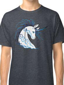 Ki-Rin (Japanese Unicorn) - Blue Classic T-Shirt