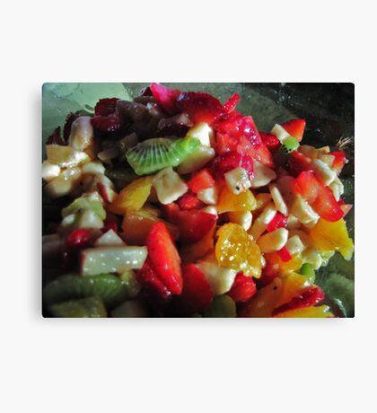 Fruit Salad Canvas Print