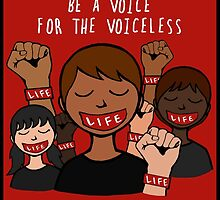Bound 4 LIFE - Be A Voice by carolinamarquez