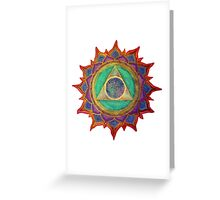Mandala : Seek  Greeting Card
