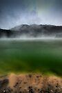 Rainbow Mountain, Crater Lake by Michael Treloar