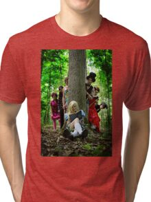 Alice Through The Looking Glass Tri-blend T-Shirt