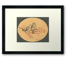 Love Birds - 1945... Framed Print