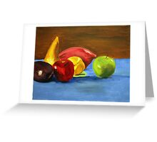 Fruit_2, 18 x 14 Acrylic Painting Greeting Card