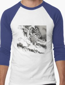 Cloud Lines Men's Baseball ¾ T-Shirt
