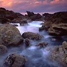 Mount Maunganui Sunset 2 by Paul Mercer