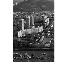Grenoble, the 3 towers Photographic Print