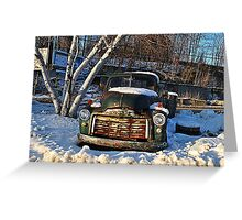 1955 GMC  Pick-Up Truck Greeting Card