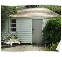 The shed behind the Treaty House Poster