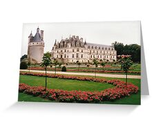 Chateau de Chenonceau, Loire Valley, France Greeting Card
