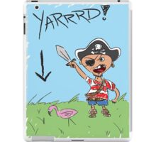 Pirate Lawn iPad Case/Skin