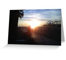 Santa Monica Greeting Card