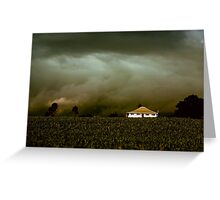 Storm on the Rise Greeting Card