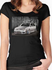 Jose's Volkswagen MkIV R32 Golf Women's Fitted Scoop T-Shirt