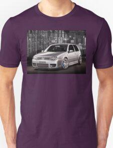 Jose's Volkswagen MkIV R32 Golf Unisex T-Shirt