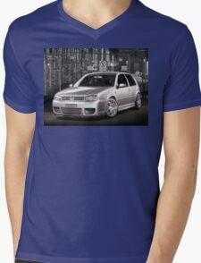 Jose's Volkswagen MkIV R32 Golf Mens V-Neck T-Shirt