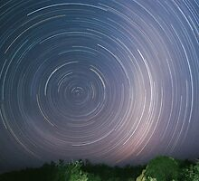 Startrails on Oodnadatta track - Outback Australia by Speedy