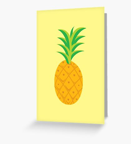 Pysch Pineapple Greeting Card