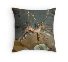Wee Little Weedy. Throw Pillow