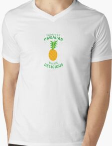 100 Percent Delicious Mens V-Neck T-Shirt