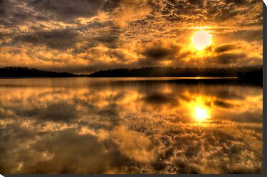 Blessed - Narrabeen Lakes, Sydney - The HDR Experience by Philip Johnson