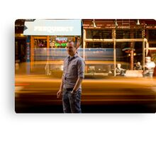 Paddy's Taxi Canvas Print