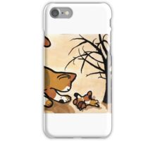 Kittens at play iPhone Case/Skin