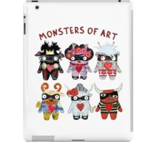 Monsters of Art iPad Case/Skin