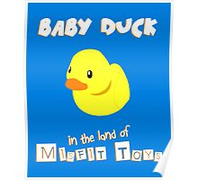 Baby Duck Poster