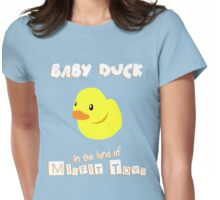 Baby Duck Womens Fitted T-Shirt
